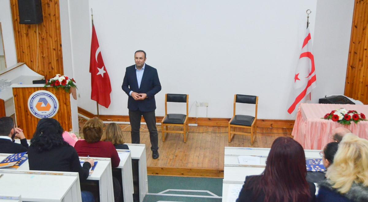 EMU Hosted a Professional Training Seminar in Collaboration with ANKOS